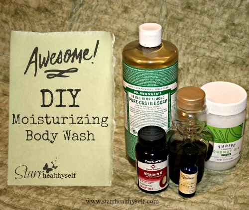 DIY Moisturizing Body Wash