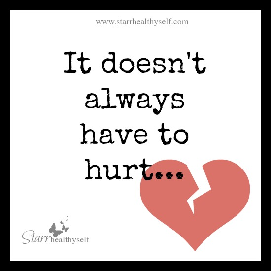 It doesn't always have to hurt…