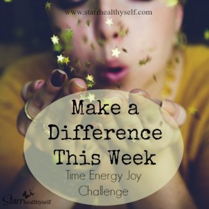 Make a Difference This Week